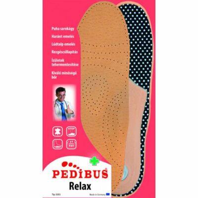 PEDIBUS Relax lúdtalpbetét