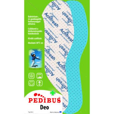 PEDIBUS Deo antibakteriális talpbetét