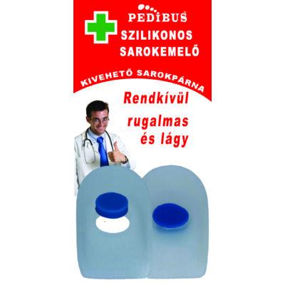 PEDIBUS szilikonos sarokemelő